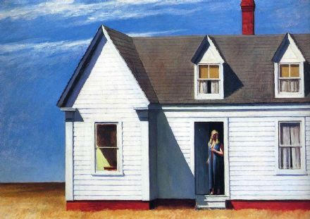 Hopper, Edward: High Noon. Fine Art Print/Poster. Sizes: A4/A3/A2/A1 (002641)